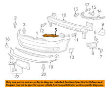VW VOLKSWAGEN OEM 10-14 Jetta Front Bumper-Guide Right 5K0807228A