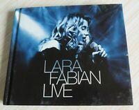 2 CD DIGIBOOK ALBUM LIVRE LARA FABIAN LIVE 20 TITRES 2002