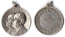 Medaglia Magnoni E Tedeschi 2 Giugno 1955 Argento 800