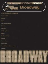 Essential Songs - Broadway: E-Z Play Today #247, Hal Leonard Corp., Good Book