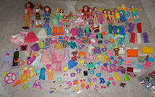 Grow girl, Mattel, Spin master, Polly Pocket- Dols and Clothing
