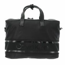 Calvin Klein Striped Logo Laptop Bag CK Black