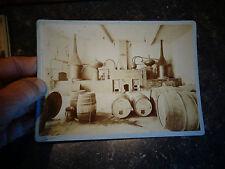 Ancienne Photo Distillerie Alambic Cognac L de Guinefollaud