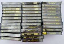 36 Vintage Readers Digest Casette Tapes Mixed Various Artists Lot