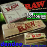 24 RAW ORGANIC CONNOISSEUR King Size Slim 110mm Natural Unrefined Rolling Papers