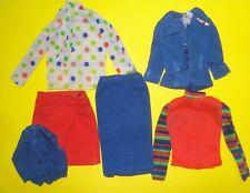 Vtg Barbie Best Buy 70s Doll Clothes Lot GUAG GET UP N GO UNITED 1973 7703