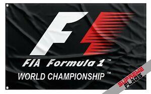Formula 1 Flag Banner (3x5 ft) One Auto Car Racing Garage F1 World Championship