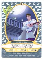 PRINCE NAVEEN'S ARMY OF FROGS Sorcerers of the Magic Kingdom Card #53 of 70