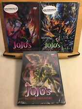 Jojo's Bizarre Adventure complete OVA 2 collection / NEW anime on DVD vol 1 2 3