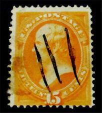 #319 Philatrade US Stamp SC #163 Used $160 1873