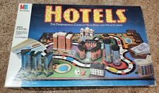"1987 Milton Bradley ""Hotels"" Boardgame  100% Complete"