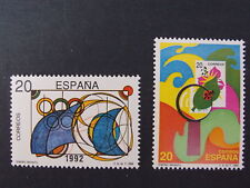Spanish Stamps - 1989 Children's Stamp Designs In MNH