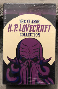 The Classic H. P. Lovecraft Collection 5 Book Box Set Horror Cthulhu NEW Sealed