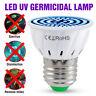 220V E27 LED UVC Sterilizer Light Bulb 80 LED UV Ultraviolet Germicidal Lamp UK