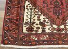"4'2""x6'6"" Authentic Handmade wool Oriental Geometric Caucasian area rug Vintage"