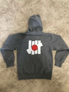 UNDEFEATED X HOODIE SWEATER Gray RARE Small S Japan Exclusive Limited Complexcon