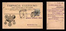 Napoli - farmacia Cozzolino 23.9.1920