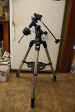 Meade EQ-1 Telescope Mount Head with Counterweight Bar, Cables & Steel Tripod