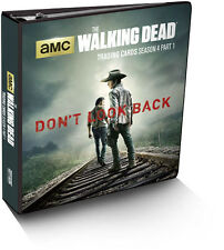 Walking Dead Season 4 Part 1 Trading Card Binder Album with Exclusive Card
