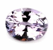 Certified Natural Unheated Light Purple Sapphire 0.40ct Oval Madagascar Gem
