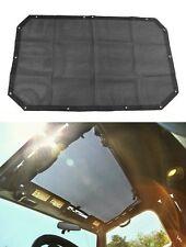 Eclipse Sun Shade Cover for Jeep Wrangler JK JKU 2/4 Door Top Mesh Roof Cover