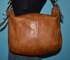 COACH SOHO Brown Leather Hobo Bucket Slouch Shoulder Shopper Purse Bag 12684