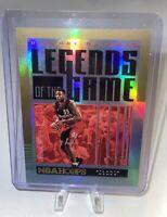 2020-21 NBA Hoops /10 Dikembe Mutombo Legends of the Game Atlanta Hawks