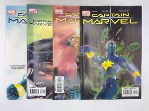 Captain Marvel Vol. 5 #19-20, 23-24 Marvel Comics 2004 VF Odyssey!