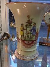 Dresdener Porzellan mit Vasen-mehrarmige
