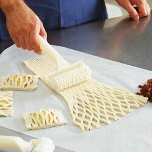 Best Plastic Wheel Knife Embossing Dough Roller Lattice Craft Cooking Tool Large