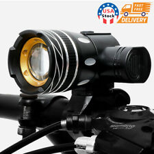 USB Rechargeable T6 LED MTB Bicycle Light  Racing Bike Front Headlight