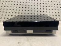 Vintage RARE Mitsubishi Turntable Record Player DP-15 w/Dustcover NICE DECOR