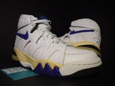 1994 OG NIKE AIR STRONG HI MAX WHITE CONCORD PURPLE EMERALD BLACK 130200-151 6.5