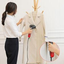 HANDHELD PORTABLE GARMENT STEAMER PROFESSIONAL FABRIC CLOTHES IRON HEAT TRAVEL