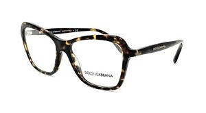 New Authentic DOLCE & GABBANA Eyeglasses DG 3263 502 Tortoise Brown Italy 51mm