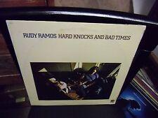 Rudy Ramos Hard Knocks LP 1972 Fantasy Records VG