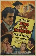 KING OF THE BANDITS Movie POSTER 27x40 Gilbert Roland Angela Greene Chris-Pin