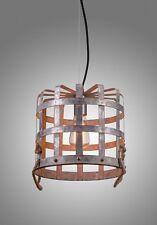 Farmhouse Lighting, Kitchen Pendant Lights, Rustic Bucket Ceiling Light Fixture
