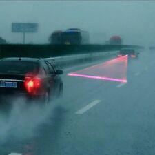 Luz trasera De Señal Anti-colisión LED coche Rojo Laser Niebla Advertencia GB