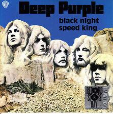 "7"" DEEP PURPLE black night / speed king 45 RECORD STORE DAY EU 2015 RSD"