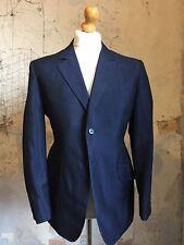 Vintage Bespoke Mohair 1960's 3 Three Piece Suit Size 40