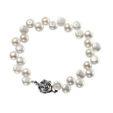 Bracciali di bigiotteria perle bianche