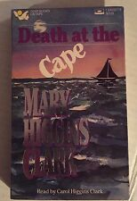 DEATH AT THE CAPE,MARY HIGGINGS CLARK, AUDIO BOOK ON CASSETTE