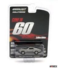 1967 FORD MUSTANG ELEANOR Gone In 60 Seconds Greenlight Limited Edition 1/64 New