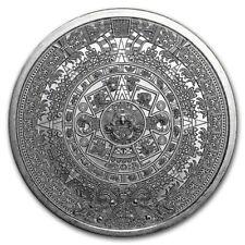 Médaille Argent 999/1000 Calendrier Aztèque 1 once