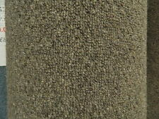 Carpet Remnant Roll End CLA New Windsor Gravel Loop Wool 4x2.52m Cheap