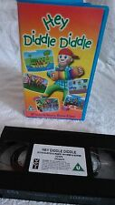 HEY DIDDLE DIDDLE childrens video tape cassette VHS *111