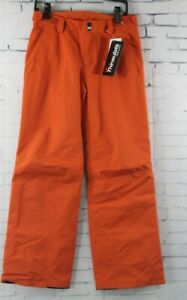 O'Neill Boys Youth Anvil Ski and Snowboard Pants Size 10 / 152 Burnt Ochre New