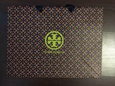 "Tory Burch Small Paper Shopping Gift Bag 12"" X 9"" X 5"""