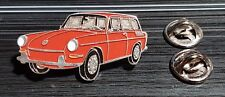 Volkswagen VW pin typ 3 Sedán 1500 ROJA - maße 40x20mm